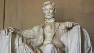 The Abraham Lincoln Memorial in Washington DC